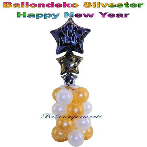 Ballondeko-Silvester-Happy-New-Year-H1