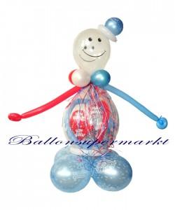 Geschenkverpackung im Ballon zum Kindergeburtstag