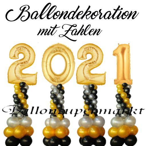 ballondekoration-silvester-2021