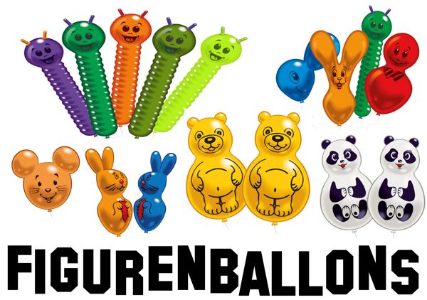 Figurenballons-Luftballons-Figuren