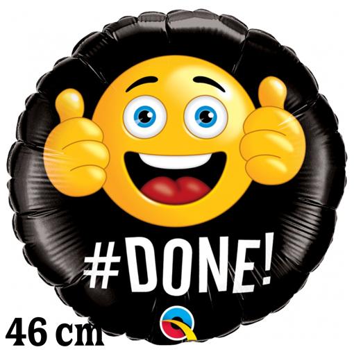 Luftballon zum Abitur: #Done!