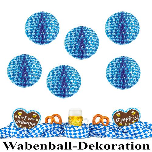Wabenball Dekoration Oktoberfest